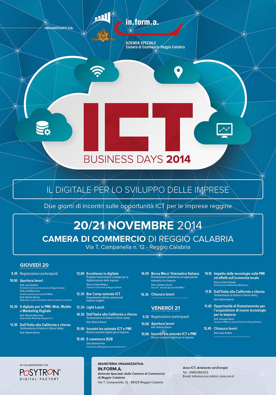 Locandina Festival ICT